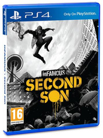 Sony Infamous: Second Son, PS4 Basic PlayStation 4 Inglese videogioco
