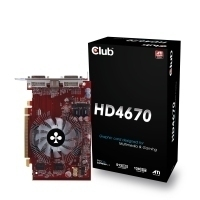 CLUB3D HD 4670 512MB GDDR3 GDDR3