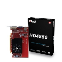 CLUB3D HD 4550 512MB, GDDR3, HDMI GDDR3