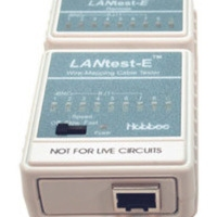 C2G LANTest-E Wire-Mapping Cable Tester Bianco analizzatore network