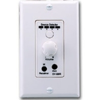 C2G Amplified Volume Control with IR Bianco divisore di rete