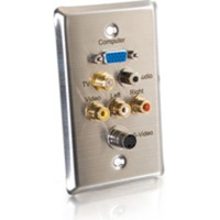 C2G Audio/Video Wall Plate