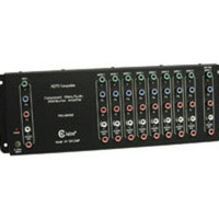 C2G Component Video + Stereo Audio Distribution Amplifier Nero divisore di rete