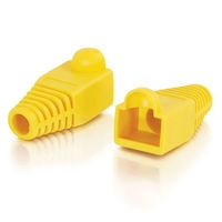 C2G RJ45 Plug Cover Giallo fermacavo