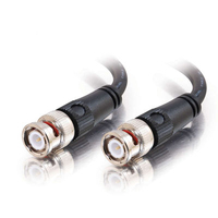 C2G 1ft 75 ohm BNC Cable 0.3m Nero cavo coassiale