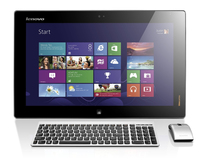 "Lenovo IdeaCentre Flex 20 1.7GHz i3-4010U 19.5"" 1600 x 900Pixel Touch screen Nero, Argento PC All-in-one"