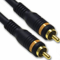 C2G 3ft VelocityT Digital Audio Coax Cable 0.91m RCA RCA cavo coassiale