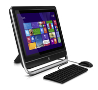 "HP Pavilion TouchSmart 23-f305er 2.8GHz i5-3340S 23"" 1920 x 1080Pixel Touch screen Nero, Argento PC All-in-one"