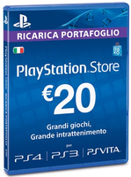 Sony PlayStation Store 20 EUR: PS4 Branded
