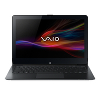 "Sony VAIO SVF11N1S2E 2.166GHz N3520 11.6"" 1920 x 1080Pixel Touch screen Nero Ibrido (2 in 1)"