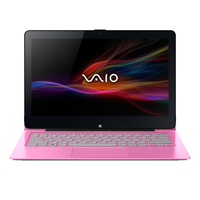 "Sony VAIO SVF11N1L2E 1.86GHz N2920 11.6"" 1920 x 1080Pixel Touch screen Rosa Ibrido (2 in 1)"