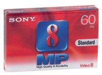 Sony 8mm video tape Standard Video ?assette 60min