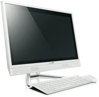 "Lenovo Essential C560 2.9GHz i3-4130T 23"" 1920 x 1080Pixel Touch screen Bianco PC All-in-one"