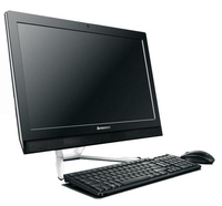 "Lenovo IdeaCentre C460 3GHz G3220 21.5"" 1920 x 1080Pixel Touch screen Nero PC All-in-one"