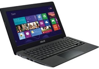 "ASUS K200MA-DS01T 1.86GHz N2815 11.6"" 1366 x 768Pixel Touch screen Nero, Rosso Computer portatile"