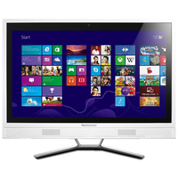 "Lenovo Essential C560 2.6GHz G3220T 23"" 1920 x 1080Pixel Bianco PC All-in-one"