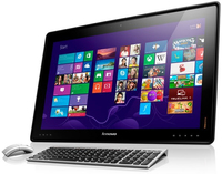 "Lenovo IdeaCentre Horizon 2GHz i7-3537U 27"" 1920 x 1080Pixel Touch screen Nero, Argento PC All-in-one"