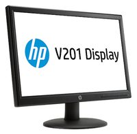 "HP V201 19.45"" Nero monitor piatto per PC"
