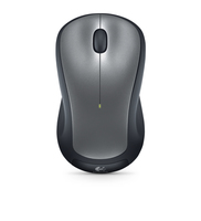 Logitech M310 RF Wireless Ambidestro Nero, Grigio mouse