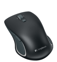 Logitech M560 RF Wireless Ambidestro Nero, Grigio mouse
