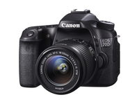 Canon EOS 70D + EF-S 18-55mm Kit fotocamere SLR 20.2MP CMOS 5472 x 3648Pixel Nero