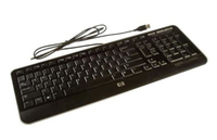 HP 701430-061 USB QWERTY Italiano Nero tastiera