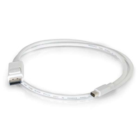 C2G 54298 1.83m Mini DisplayPort DisplayPort Bianco cavo DisplayPort