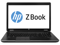 "HP ZBook 17 2.8GHz i5-4330M 17.3"" 1600 x 900Pixel Nero Workstation mobile"