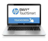 "HP ENVY TouchSmart 17-j157cl 2.2GHz i7-4702MQ 17.3"" 1600 x 900Pixel Touch screen Argento Computer portatile"