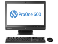 "HP ProOne 600 G1 3.1GHz i5-4670S 21.5"" 1920 x 1080Pixel Argento PC All-in-one"