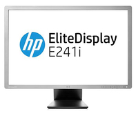 "HP EliteDisplay E241i 24"" IPS Argento monitor piatto per PC"