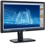 "DELL UltraSharp U2413 24"" IPS Nero monitor piatto per PC"