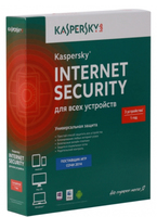 Kaspersky Lab Kaspersky Internet Security Multi-Device Russian Edition, 3 PC 1anno/i RUS