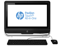 "HP Pavilion Touch 23-f391la 2.7GHz i5-3330S 23"" 1920 x 1080Pixel Touch screen Nero PC All-in-one"
