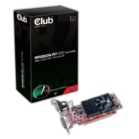 CLUB3D Radeon R7 250 Low Profile Radeon R7 250 1GB GDDR5