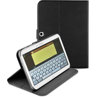 "Cellularline FOLIOGNOTE2101BK 10.1"" Custodia a libro Nero custodia per tablet"