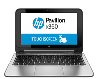 "HP Pavilion x360 11-n001eo 2.13GHz N2820 11.6"" 1366 x 768Pixel Touch screen Argento Ibrido (2 in 1)"