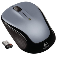 DELL M325 RF Wireless Ottico Nero, Argento mouse