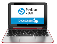 "HP Pavilion x360 11-n002tu 2.166GHz N3520 11.6"" 1366 x 768Pixel Touch screen Rosso Ibrido (2 in 1)"