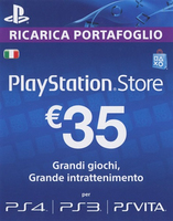 Sony PlayStation Store 35 EUR: PS4 Branded