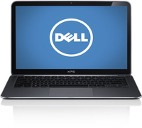 "DELL XPS 13 Touch 1.8GHz i7-4500U 13.3"" 1920 x 1080Pixel Touch screen Nero, Argento Computer portatile"