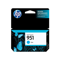 HP 951 Cyan Officejet Ink Cartridge Ciano cartuccia d