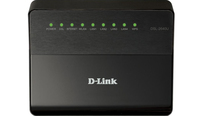 D-Link DSL-2640U/RA/U1A Fast Ethernet Nero router wireless