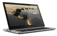 "Acer Aspire 572-6858 1.6GHz i5-4200U 15.6"" 1920 x 1080Pixel Touch screen Nero, Platino Ibrido (2 in 1)"