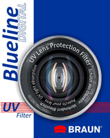 Braun 62mm Blueline UV Filter Ultravioletto (UV) 62mm