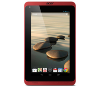Acer Iconia B1-720 16GB Nero, Rosso tablet