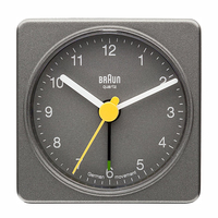 Braun BNC002GYGY Quartz table clock Grigio