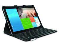 Logitech PRO Bluetooth QWERTY Inglese UK Nero tastiera per dispositivo mobile