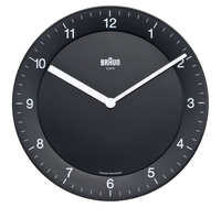 Braun BNC006 Quartz wall clock Cerchio Nero