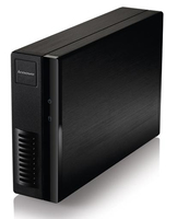 Lenovo Iomega EZ Media & Backup Center Server di archiviazione Scrivania Collegamento ethernet LAN Wi-Fi Nero